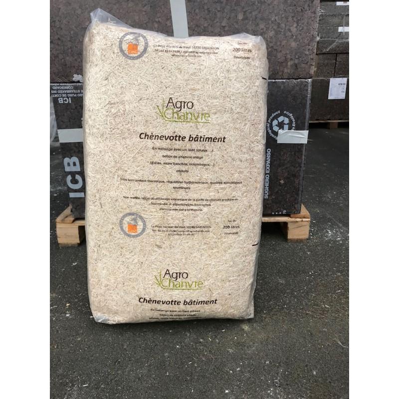 Le Chanvre Chènevotte qualité éco-construction|AgroChanvre