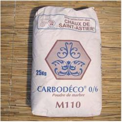 Poudre de marbre Carbodéco